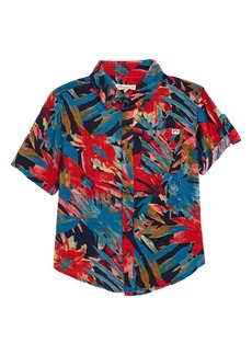 Appaman Palm Print Button-Up Shirt (Toddler, Little Boy & Big Boy)
