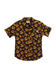 Appaman Short-Sleeve Button-Down Burger Shirt