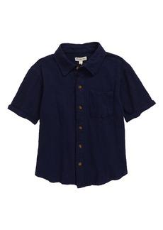 Appaman Short Sleeve Button-Up Shirt (Toddler, Little Boy & Big Boy)