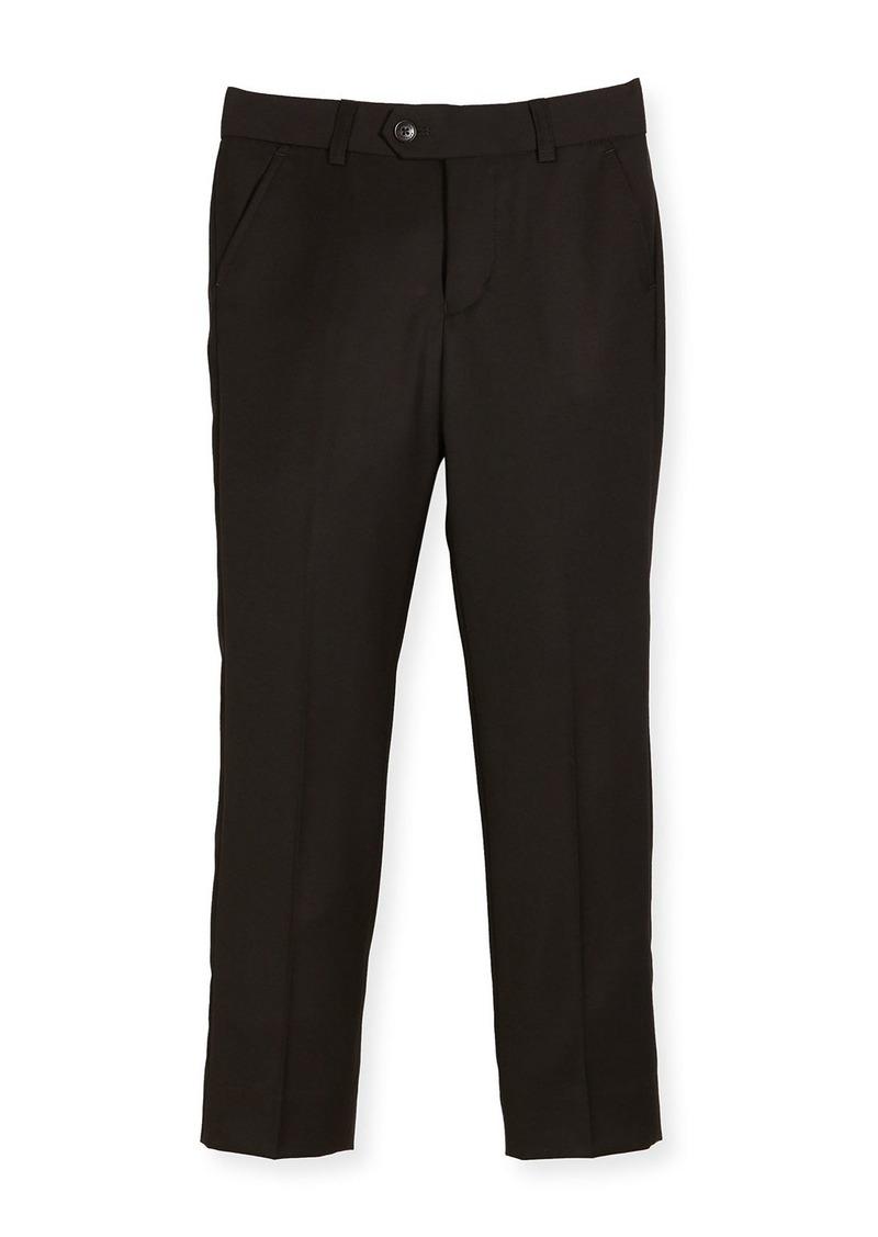 Appaman Slim Suit Pants  Black  Size 4-14