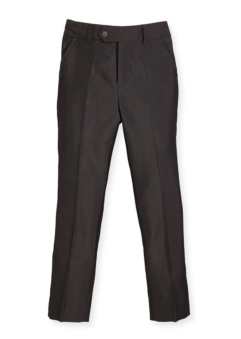 Appaman Slim Suit Pants  Charcoal  Size 4-14