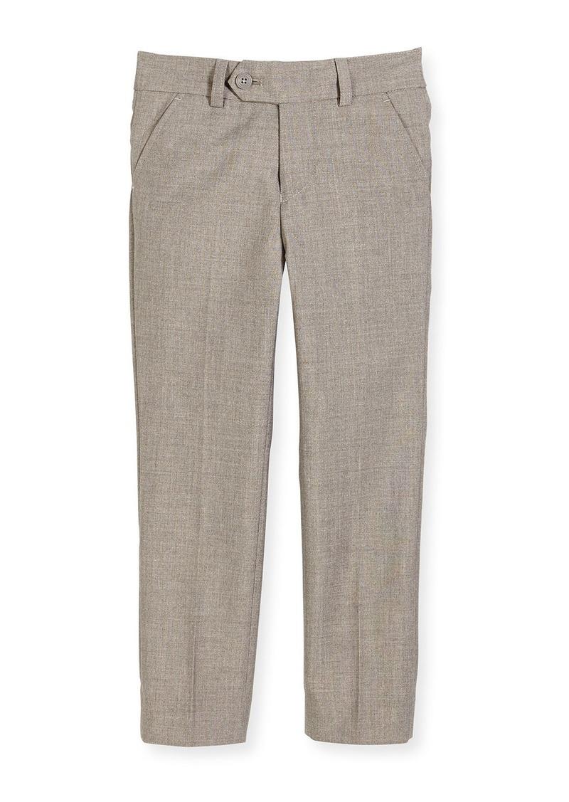 Appaman Slim Suit Pants  Light Gray  Size 2-14