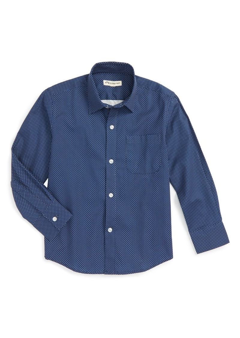 Appaman Standard Gingham Check Shirt (Toddler Boys, Little Boys & Big Boys)