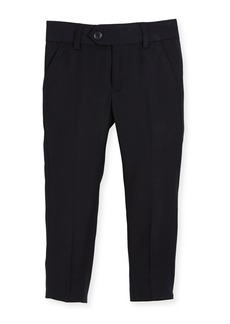 Appaman Straight-Leg Suit Pants  Navy  Size 2-14
