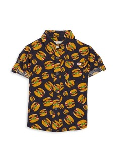 Appaman Toddler's, Little Boy's & Boy's Hamburger-Print Shirt