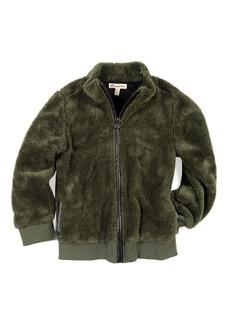 Appaman Woodland Plush Zip-Up Jacket