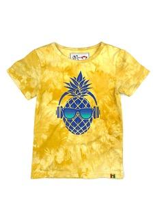 Appaman x Ziggy Marley Kids' Pineapple Tie Dye Graphic Tee (Toddler, Little Boy & Big Boy)