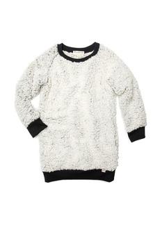Appaman Avina Plush Fleece Long-Sleeve Dress  Size 2-14