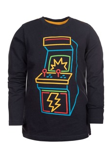 Appaman Boy's Long-Sleeve Arcade Graphic Tee, Size 2-10