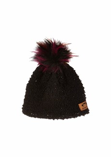 Appaman Extra Soft Boucle Hat with Puff Ball Faux Fur (Infant/Toddler/Little Kids/Big Kids)