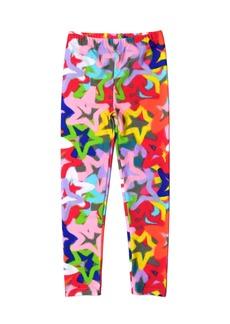 Appaman Girl's Spray Pain Stars Print Leggings  Size 2-14