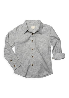 Appaman Little Boy's & Boy's Bates Tiny Stripe Shirt
