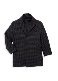 Appaman Little Boy's & Boy's City Layered Overcoat