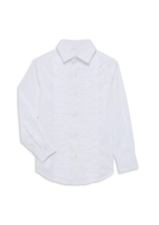 Appaman Little Boy's & Boy's Cotton Tuxedo Shirt