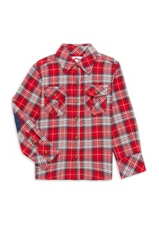 Appaman Little Boy's & Boy's Flannel Plaid Shirt