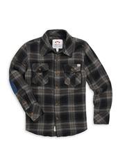 Appaman Little Boy's & Boy's Flannel Shirt