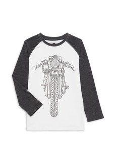 Appaman Little Boy's & Boy's Motorcycle Graphic T-Shirt