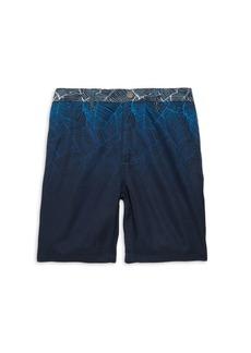 Appaman Little Boy's & Boy's Ombre Palm Shorts