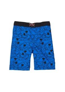 Appaman Little Boy's & Boy's Palm Beach Swim Trunks