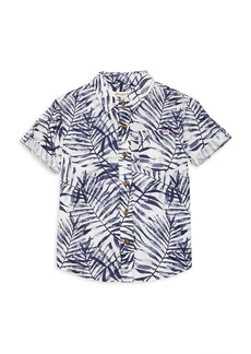 Appaman Little Boy's & Boy's Patterned Short-Sleeve Button-Front Shirt