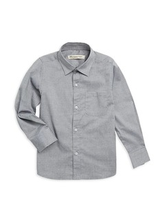 Appaman Little Boy's & Boy's Pindot Casual Cotton Button-Down Shirt
