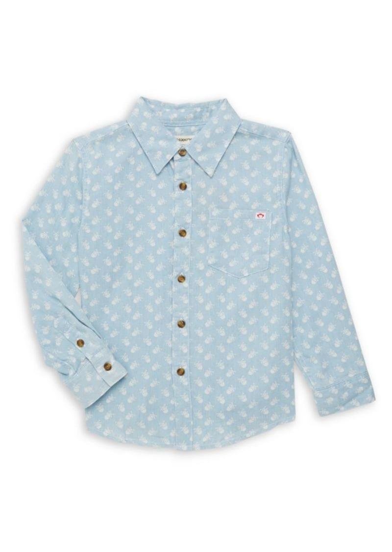 Appaman Little Boy's & Boy's Remy Crossbones Shirt
