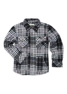 Appaman Little Boy's & Boy's Snow Fleece Shirt