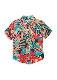 Appaman Little Boy's & Boy's Tropical-Print Shirt