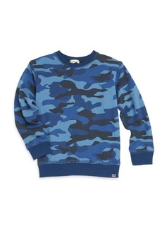 Appaman Little Boy's & Boy's Highland Camo-Print Sweatshirt