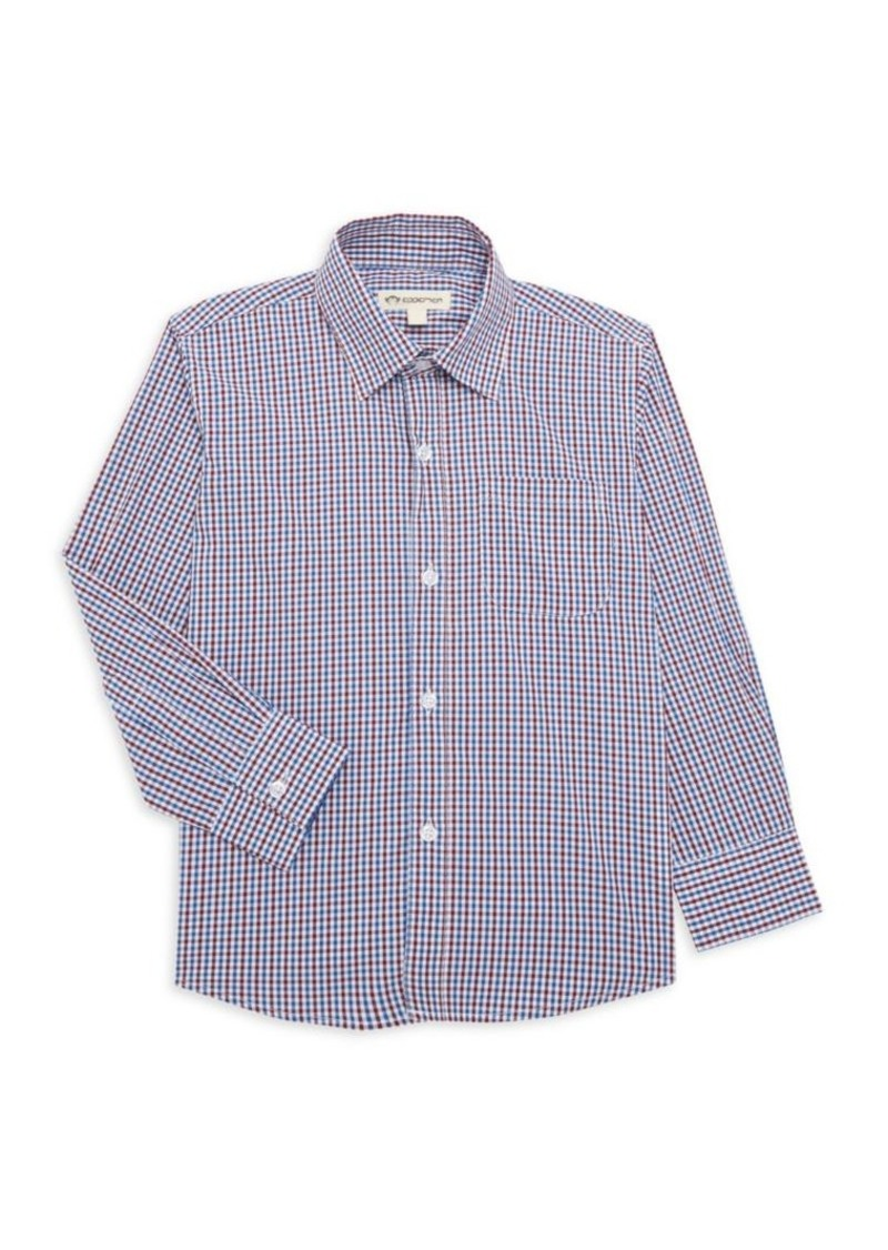 Appaman Little Boy's Tailor-Fit Plaid Shirt