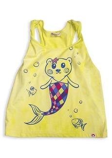 Appaman Little Girl's & Girl's Graphic Cotton-Blend Tank Top