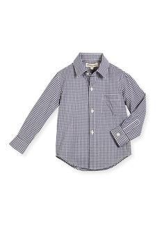 Appaman Long-Sleeve Cotton Gingham Shirt