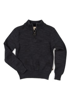Appaman Mock-Neck Half-Zip Sweater