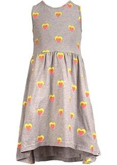 Appaman Rainbow Heart Print Naxios Dress (Toddler/Little Kids/Big Kids)