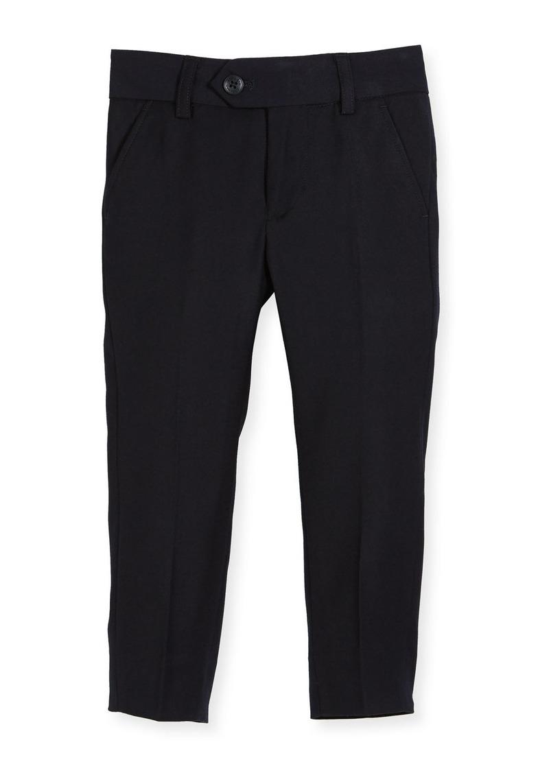 Appaman Straight-Leg Suit Pants  Navy  Size 2-14