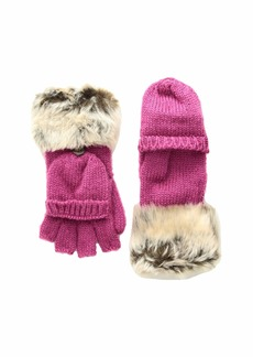 Appaman Timid Convertible Mittens with Faux Fur Trim (Infant/Toddler/Little Kids/Big Kids)