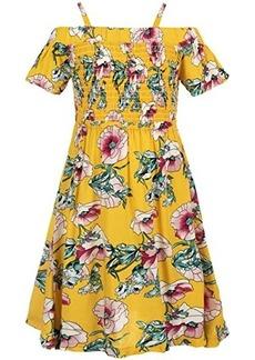 Appaman Tropical Floral Juniper Dress w/ Smocked Top (Toddler/Little Kids/Big Kids)