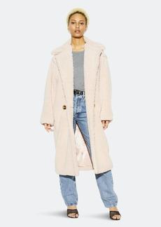 APPARIS Daryna Faux Shearling Long Coat - L - Also in: S, M, XS, XL