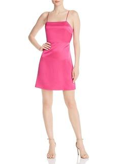 AQUA A-Line Mini Dress - 100% Exclusive