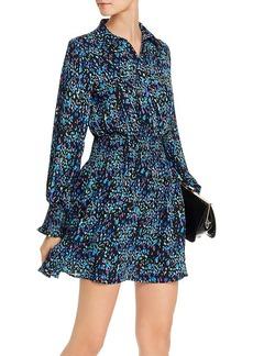 AQUA Abstract Dot-Print Shirt Dress - 100% Exclusive