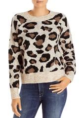 AQUA Leopard Print Sweater - 100% Exclusive