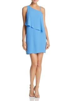 AQUA Asymmetric-Overlay Dress - 100% Exclusive