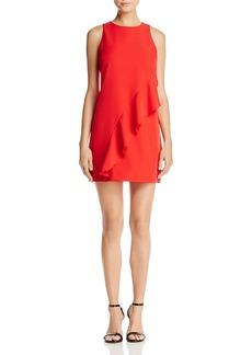Aqua Asymmetrical Ruffle Dress - 100% Exclusive