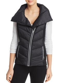 AQUA Athletic Asymmetric Puffer Vest - 100% Exclusive