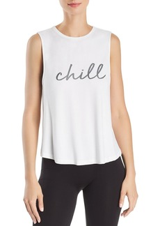 AQUA Athletic Chill Twist-Back Tank - 100% Exclusive