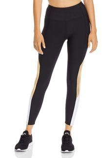 AQUA Athletic Color-Block High-Rise Leggings - 100% Exclusive