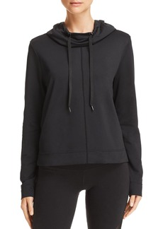 AQUA Athletic Cropped Hooded Sweatshirt - 100% Exclusive