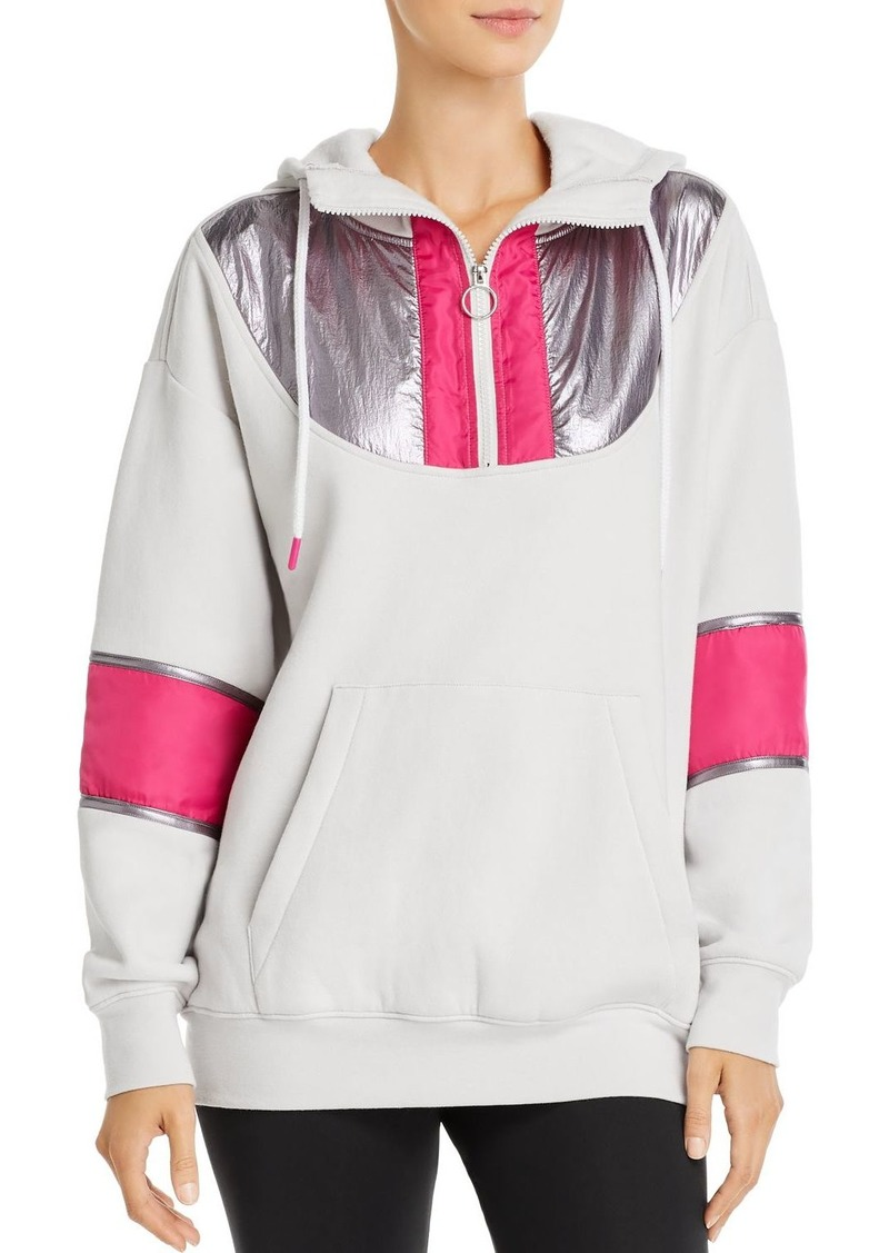 AQUA Athletic Half-Zip Hooded Fleece Sweatshirt - 100% Exclusive