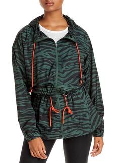AQUA Athletic Hooded Animal Print Jacket - 100% Exclusive
