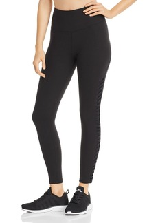 AQUA Athletic Mesh-Inset Leggings - 100% Exclusive